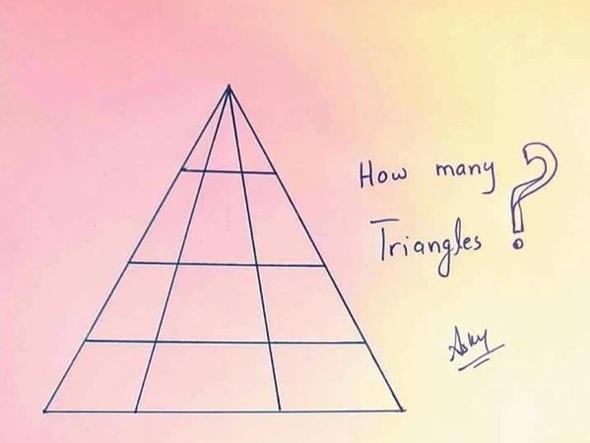 quanti triangoli vedi?