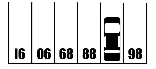 rompicapo auto parcheggiata